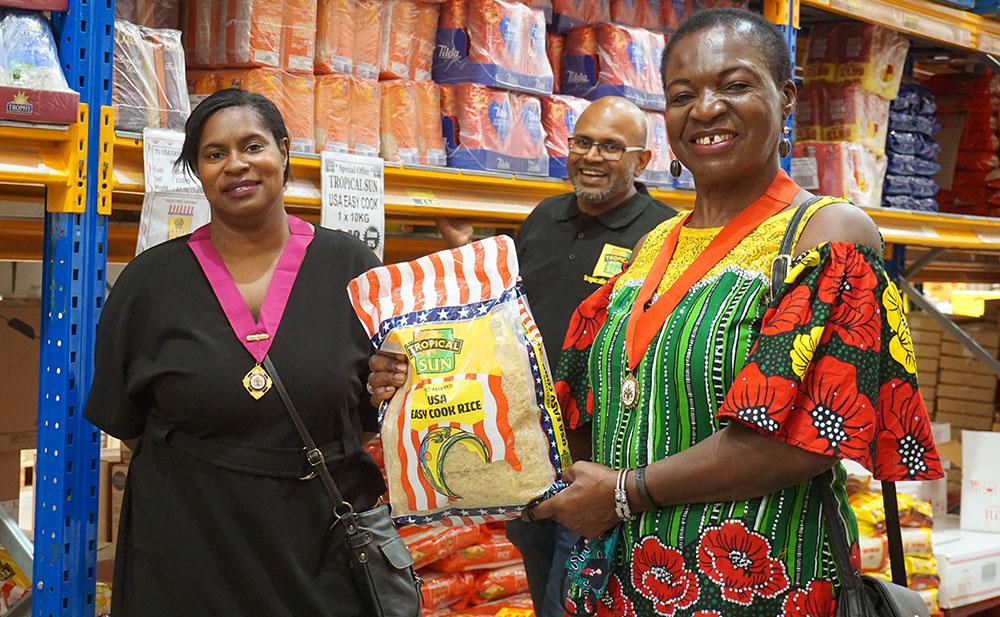 Wanis Wholesaler London National Rice Week Tropical Sun USA Rice 2