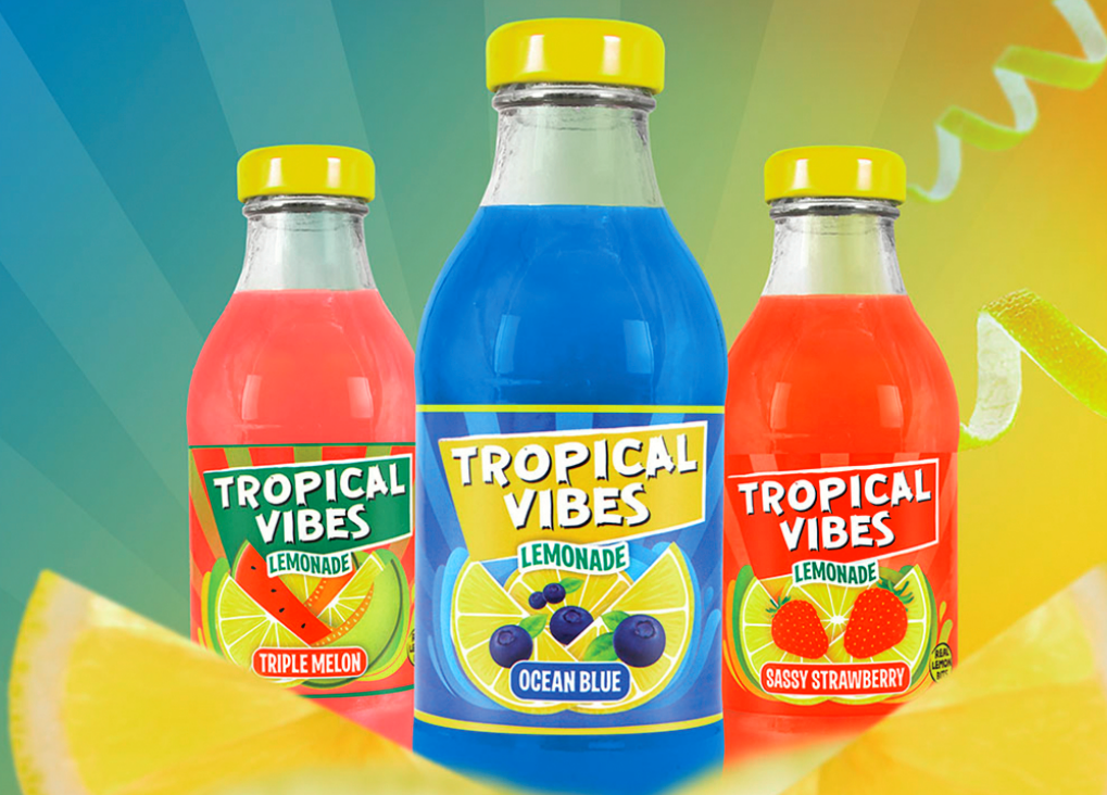 Tropical Vibes Soft Drinks